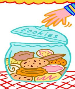 The cookie jar sat on the edge Of a table quite near to a ledge My hands nearly slipped As into it I dipped Not to eat them I never did pledge